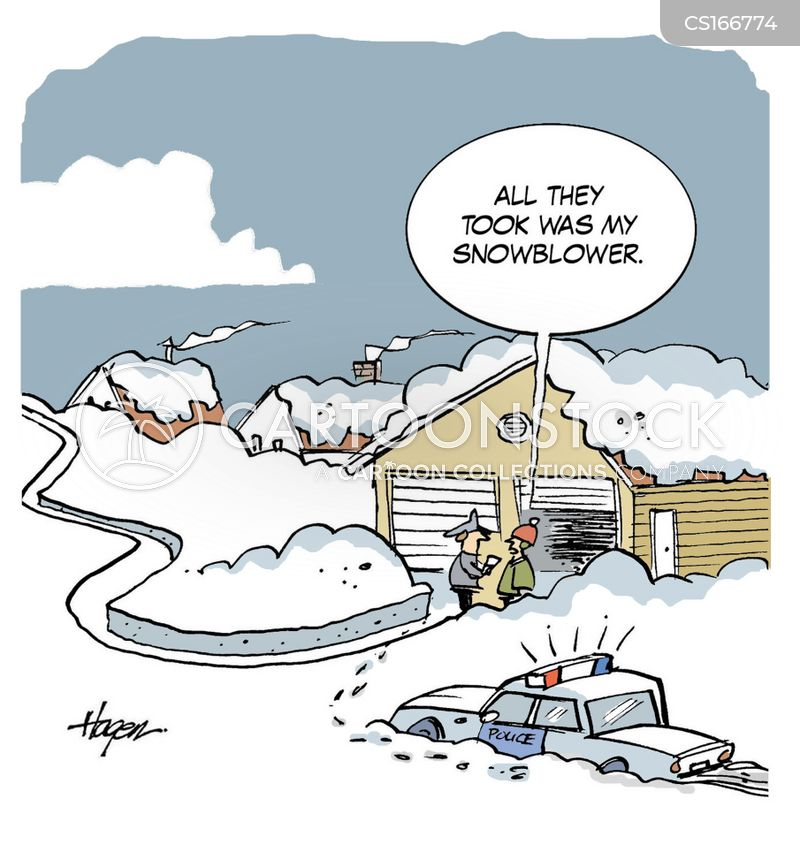 Snowblower Cartoons and Comics - funny pictures from ...