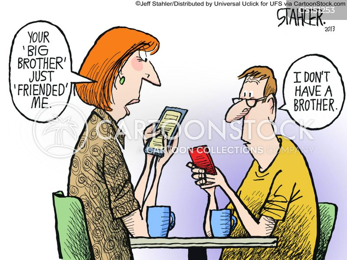 domestic espionage cartoon