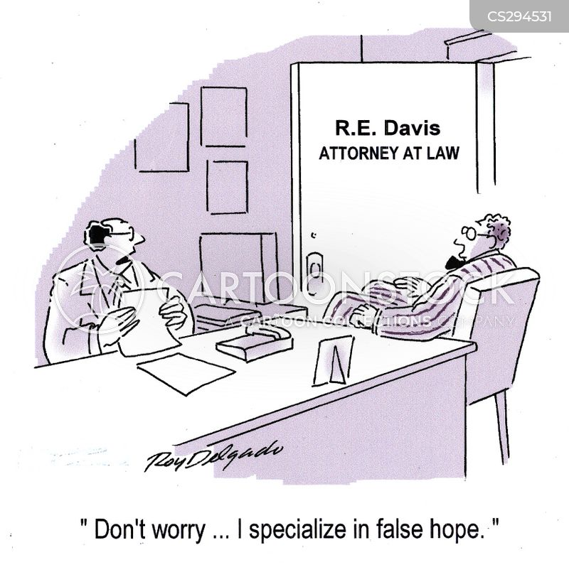 false hope cartoon