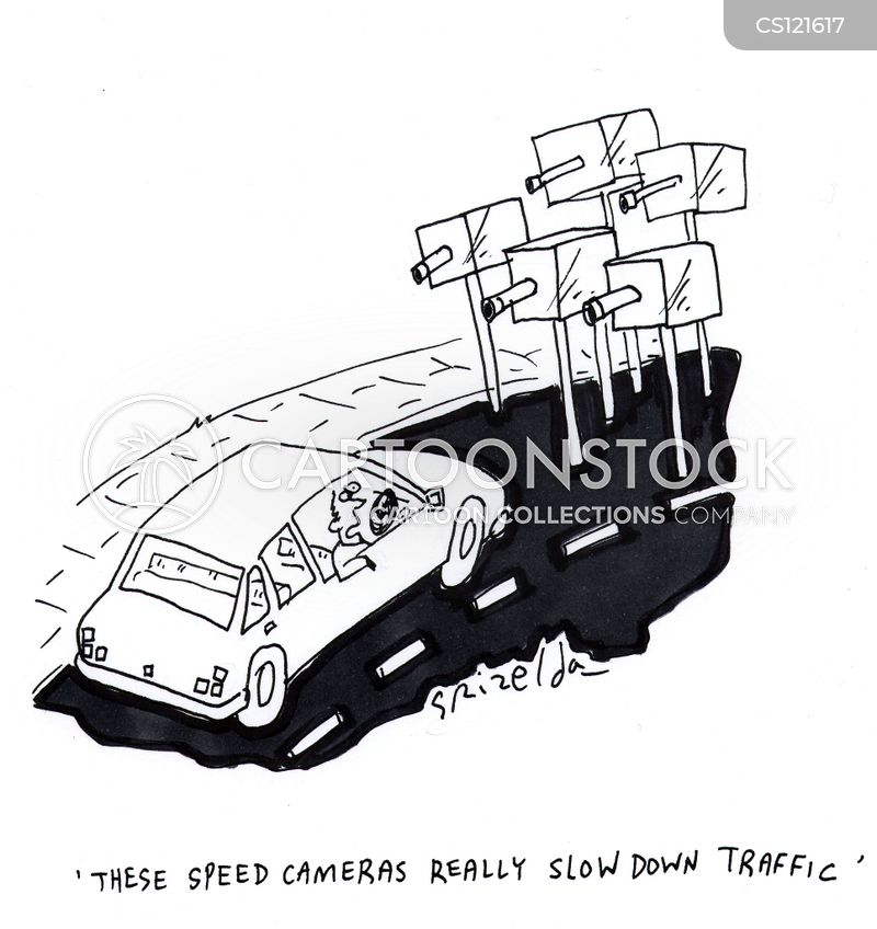 slows down cartoon