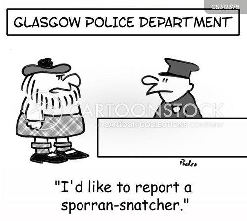 highland cartoon