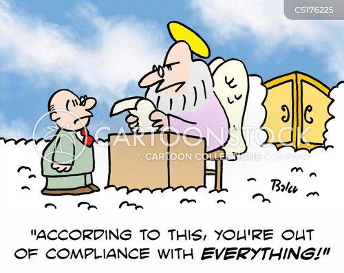 compliance cartoon