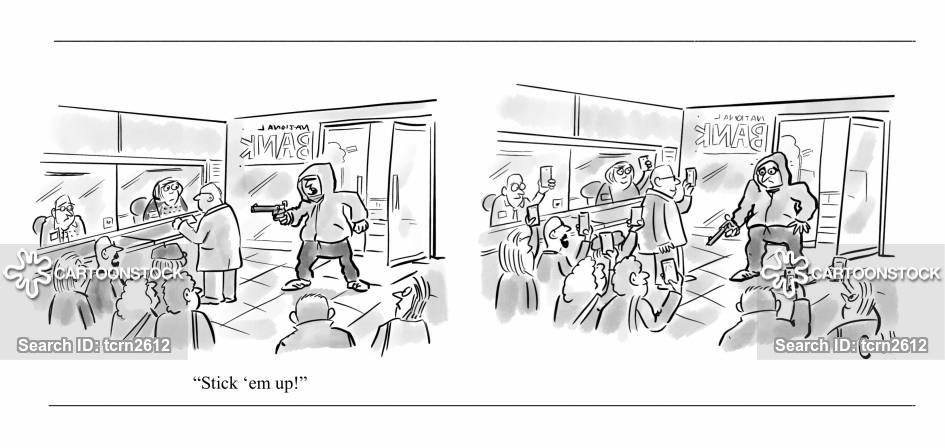 bemused cartoon