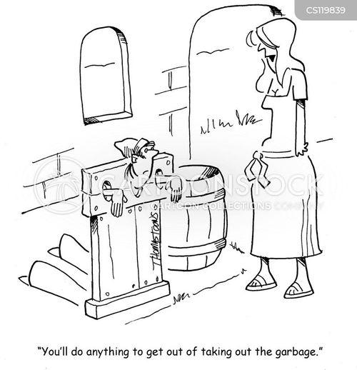 stockades cartoon