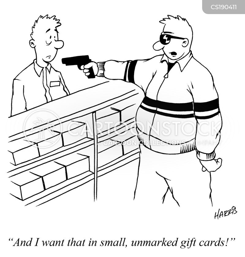 gift card cartoon