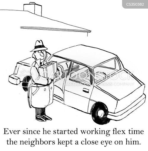 suspiciousness cartoon