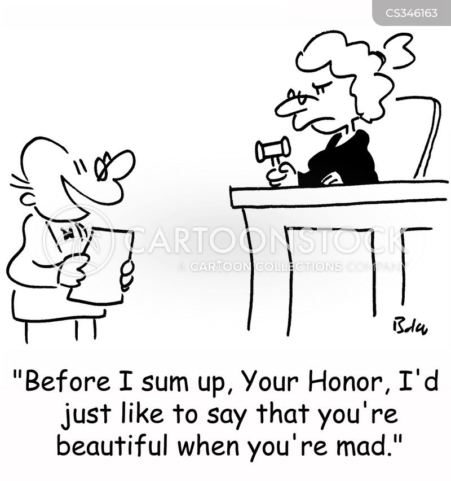 sum up cartoon