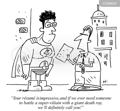 super villain cartoon
