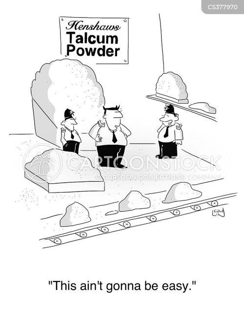 talcum powder cartoon