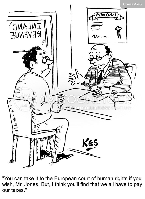 european court of human rights cartoon