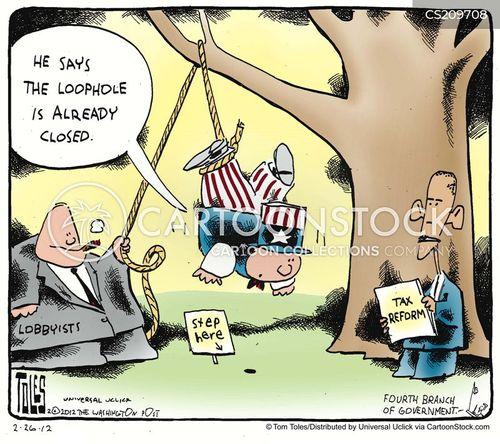 tax reforms cartoon