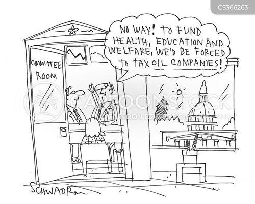 education funding cartoon