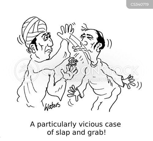 professional thief cartoon
