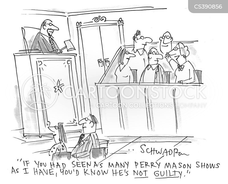 courtroom dramas cartoon