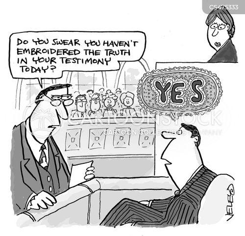 court procedure cartoon