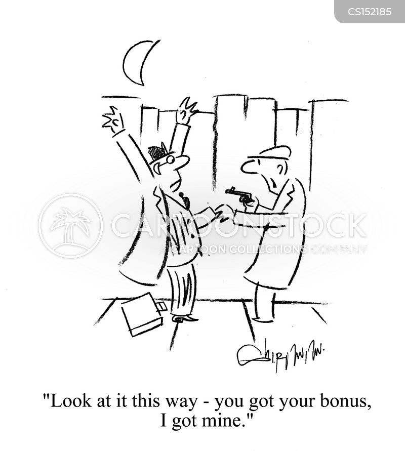 bonus pay cartoon