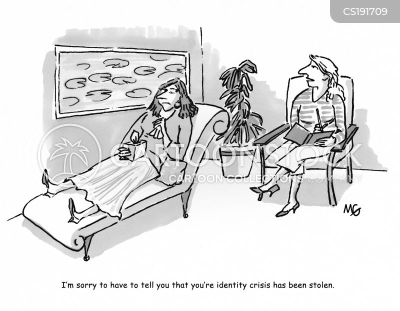 identity thefts cartoon