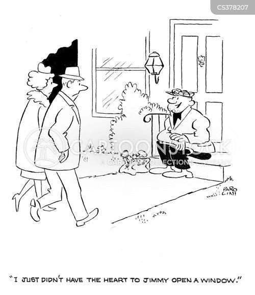 burgled cartoon