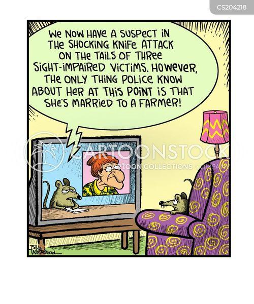 three blind mice cartoon