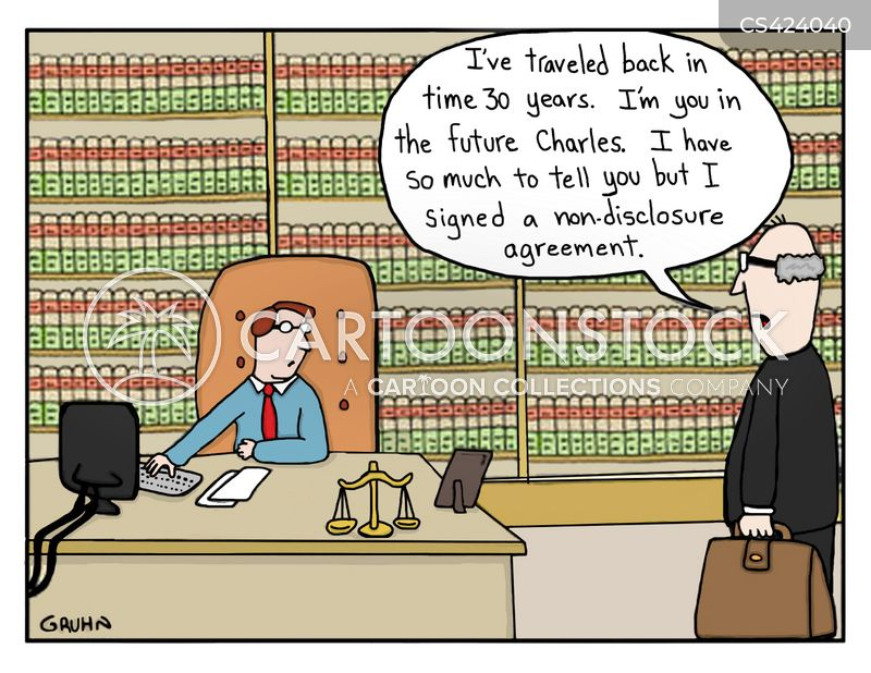 Non Disclosure Agreement Cartoons And Comics Funny Pictures From