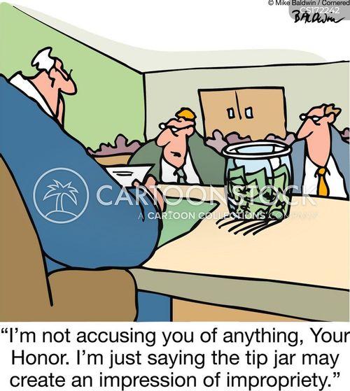 tip jar cartoon