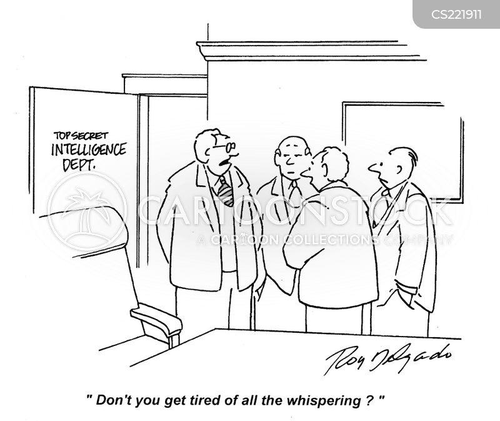 federal bereau of investigation cartoon