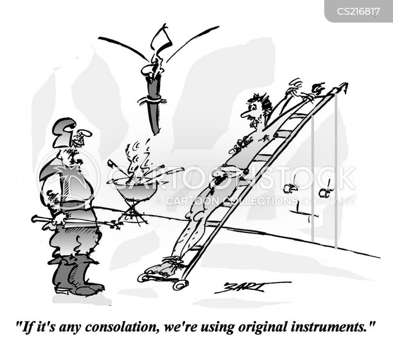 Torture Instruments Cartoons and Comics - funny pictures ...