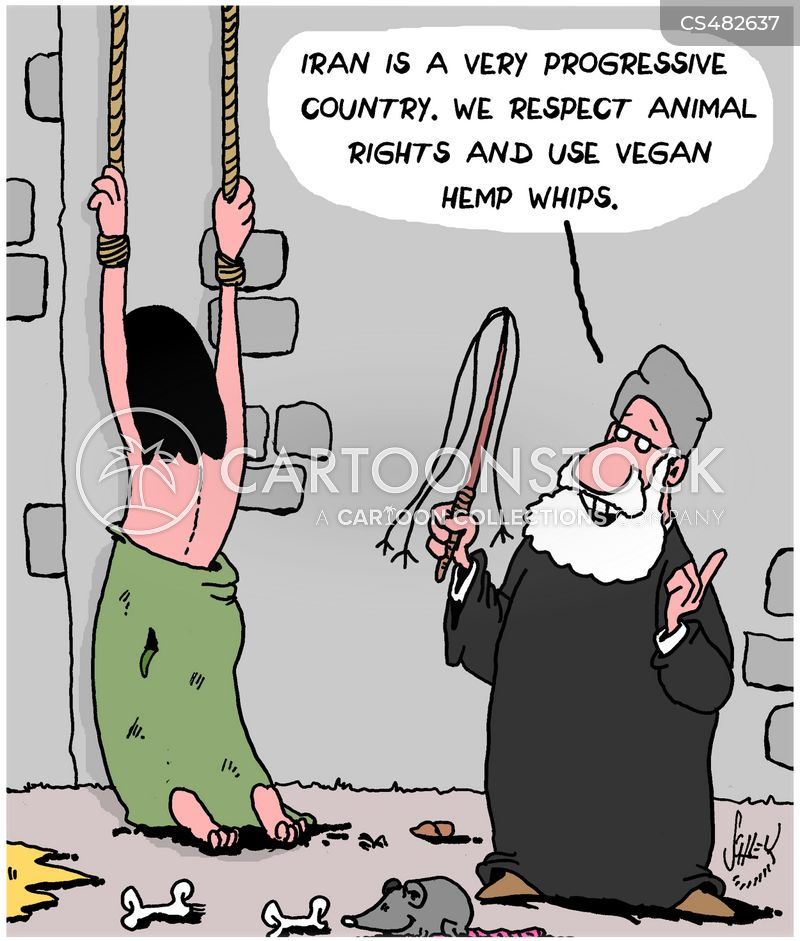 human rights violation cartoon