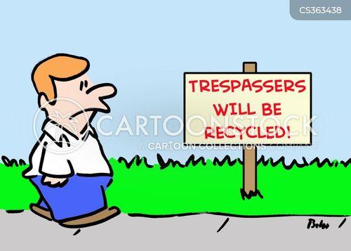 prosecuted cartoon