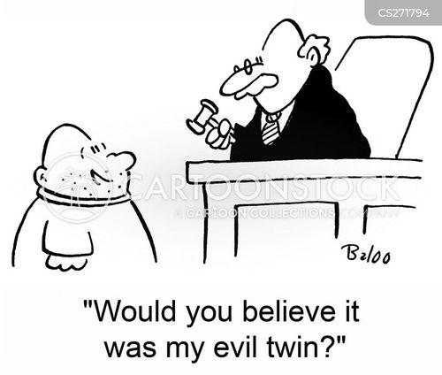 evil twins cartoon