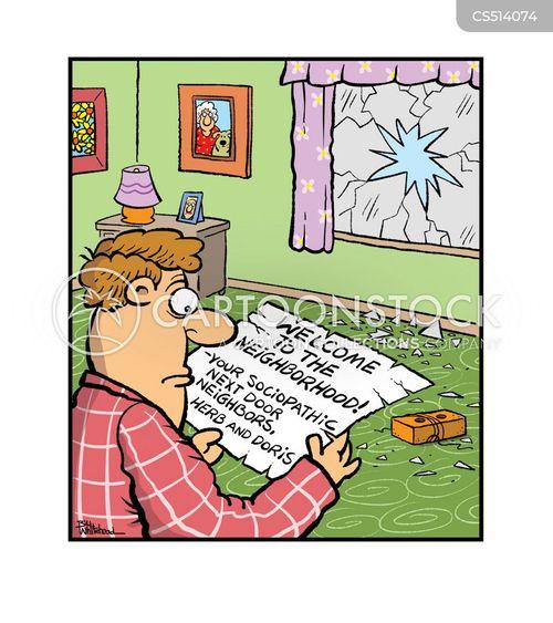 nightmare neighbors cartoon
