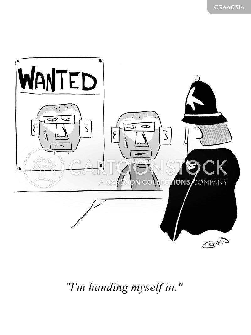 police stations cartoon