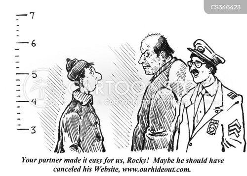 burgle cartoon