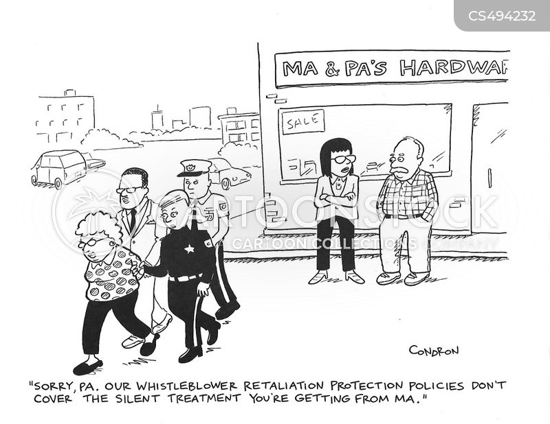 retaliations cartoon