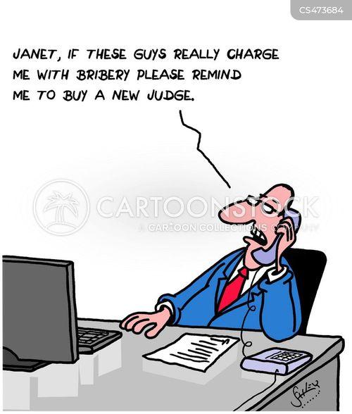 white-collar crimes cartoon