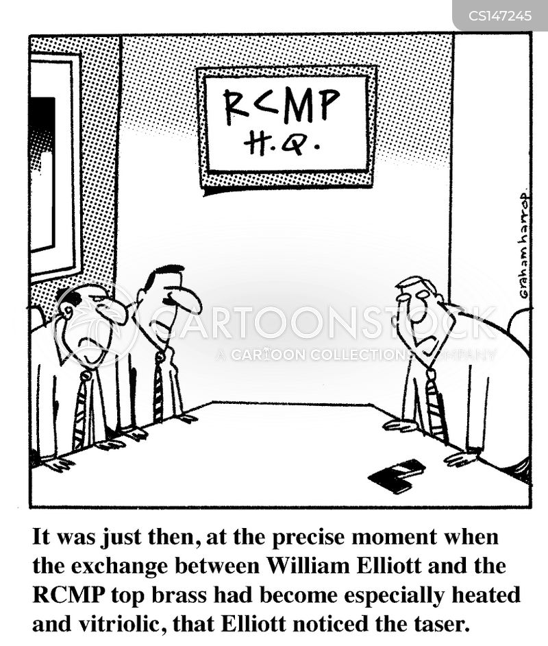rcmp cartoon