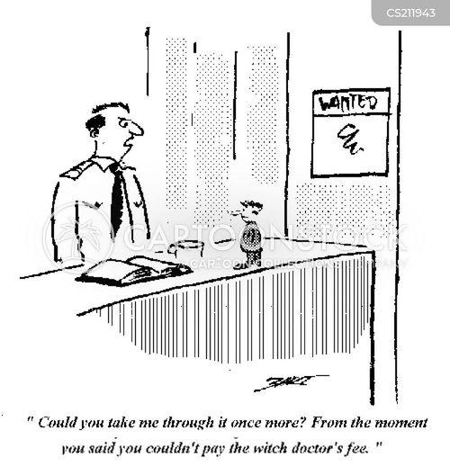 shamen cartoon