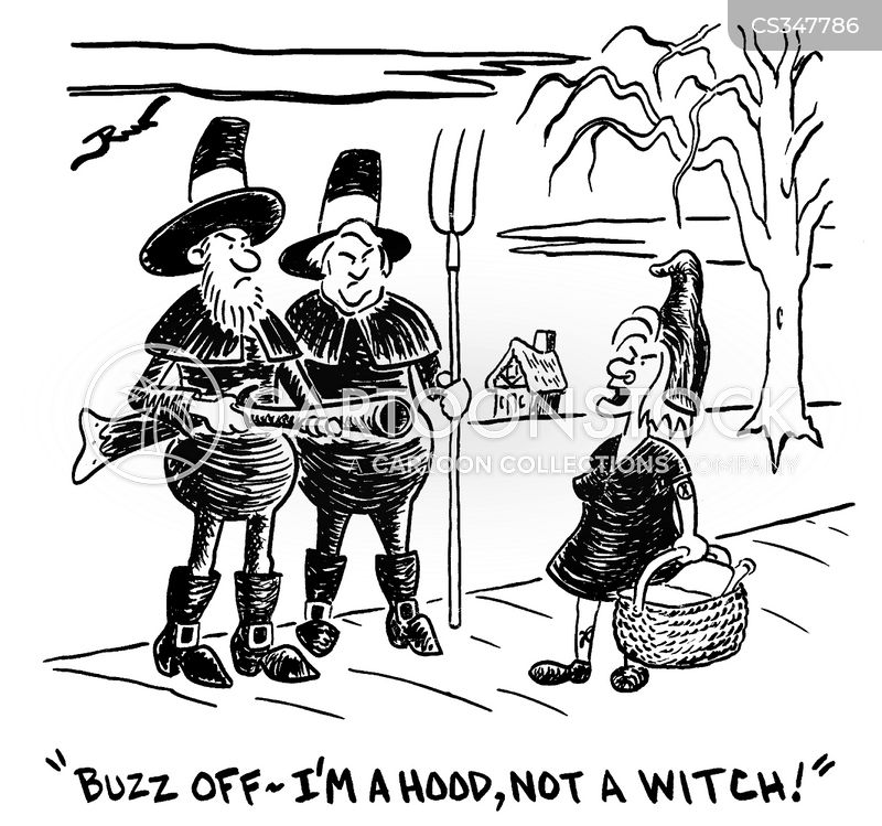 witch-hunt cartoon