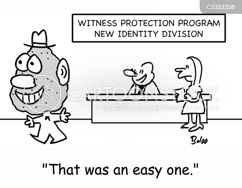 new identity cartoon