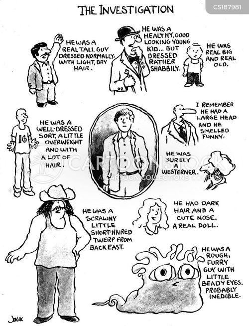 description cartoon