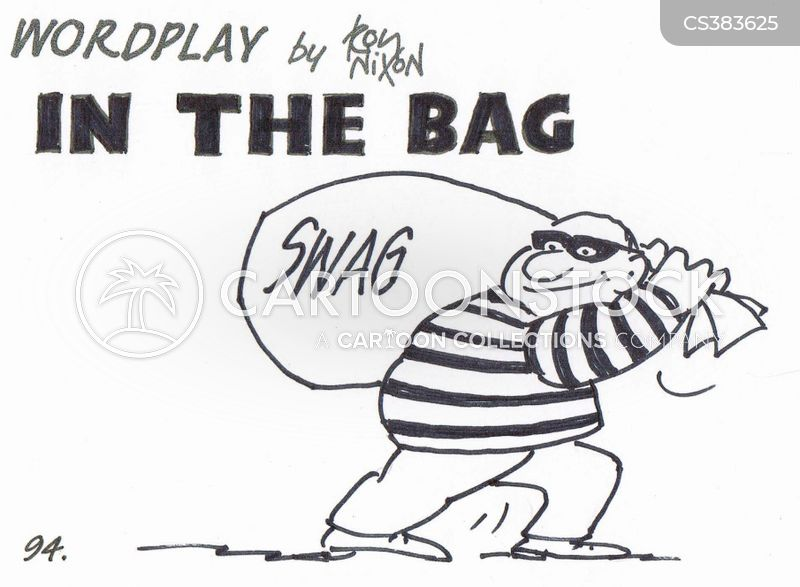 swag bags cartoon