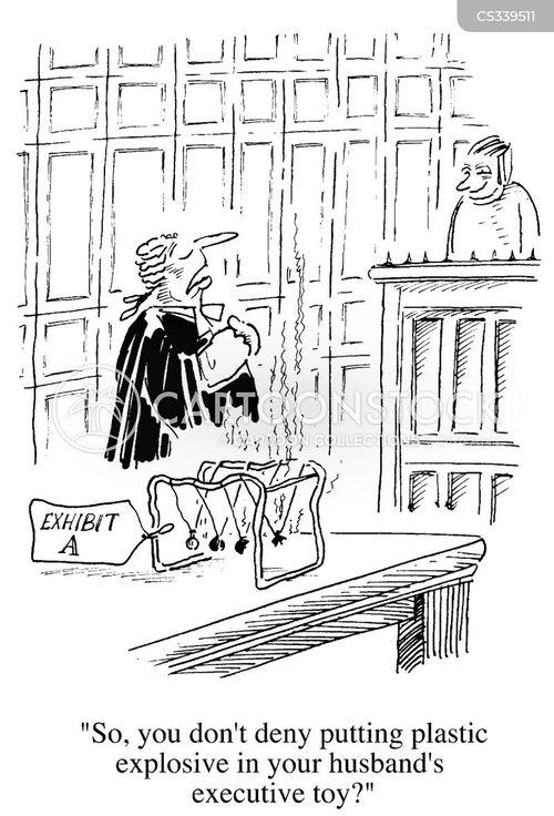 executive toy cartoon