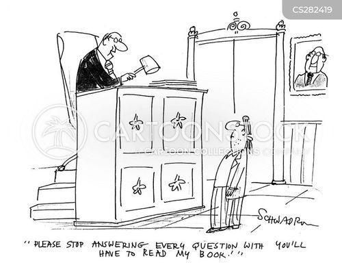 publicising cartoon
