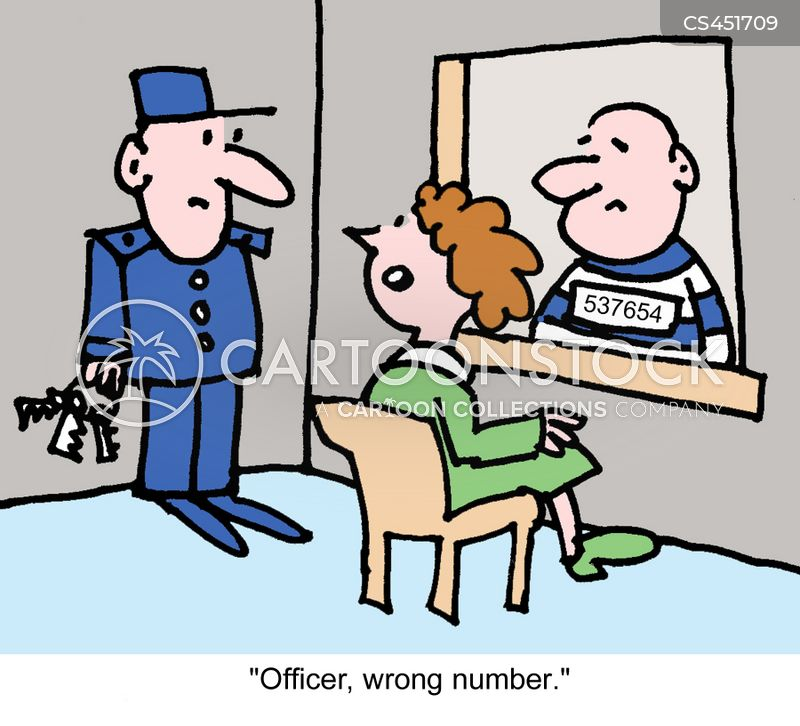 wrong number cartoon