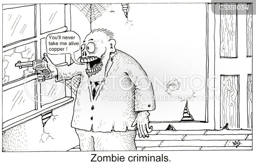 zombified cartoon