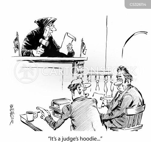 hooded cartoon