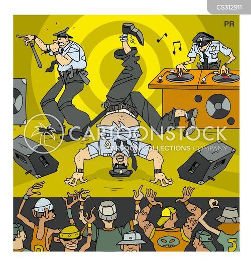 breakdance cartoon