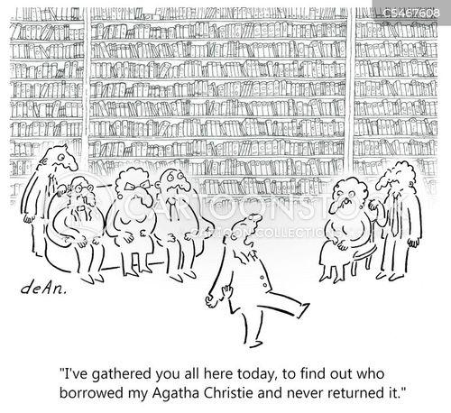 gathered cartoon