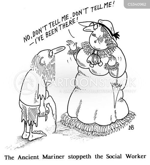 ancient mariner cartoon