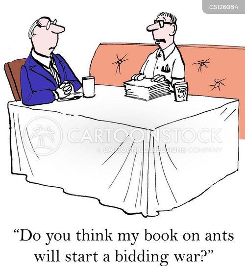 publishing rights cartoon